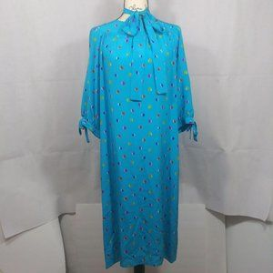 Miss O Oscar De La Renta Silk Vintage Dress